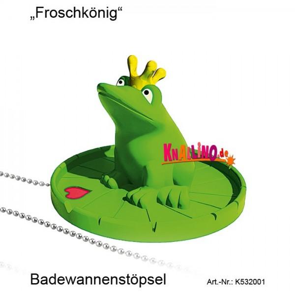 Froschkönig Badewannenstöpsel