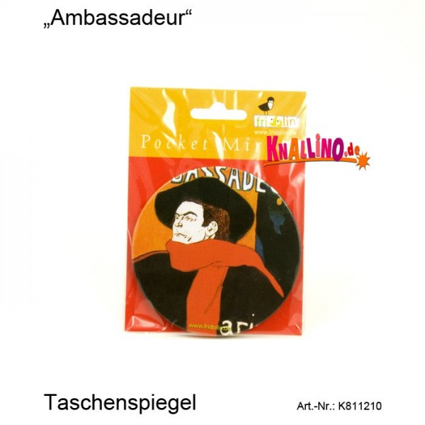 Ambassadeur Taschenspiegel
