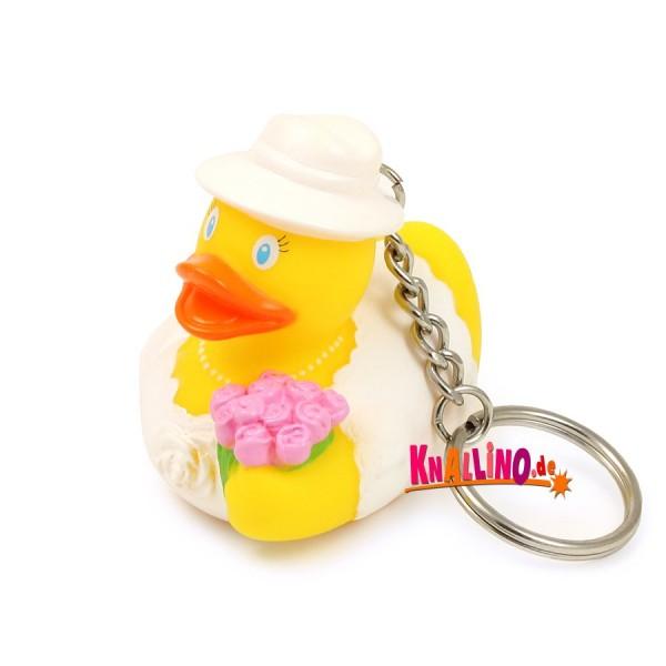 Brautente Schlüsselanhänger