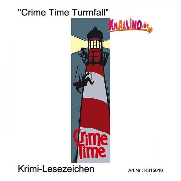 Crime Time Turmfall Krimi-Lesezeichen