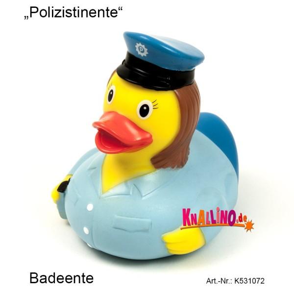 Polizistinente Badeente