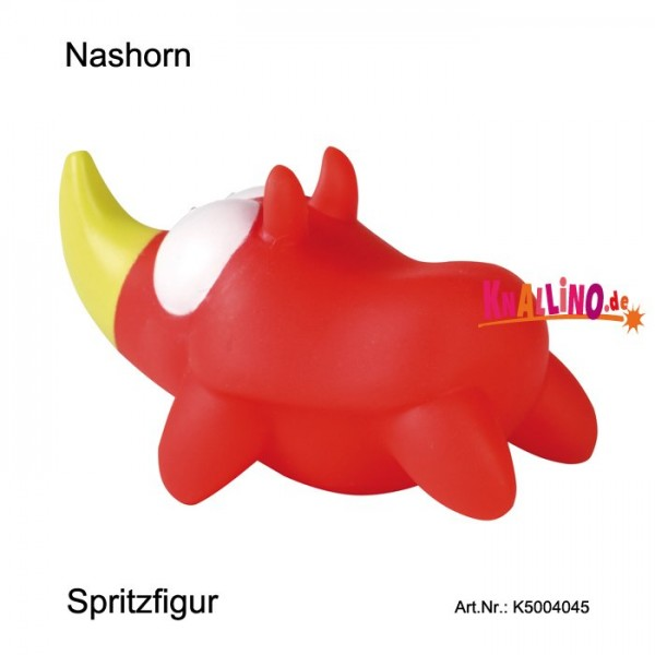 Nashorn Spritzfigur aus Sortiment Rasselbande