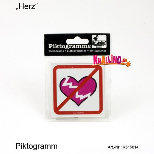 Herz Piktogramm