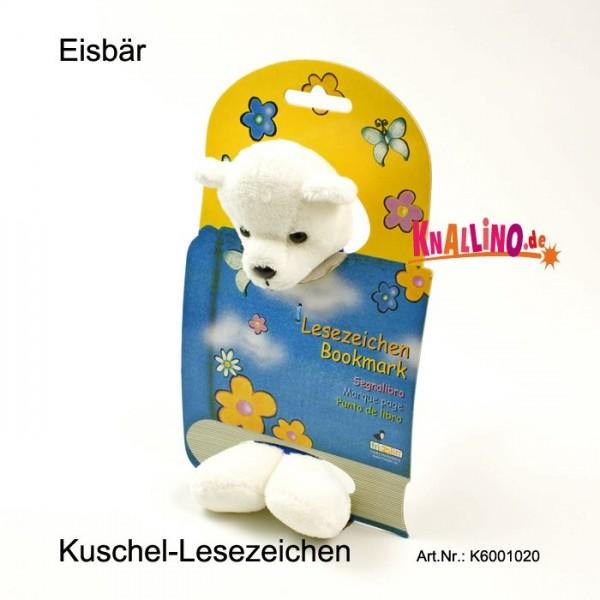 Eisbär Kuschel-Lesezeichen