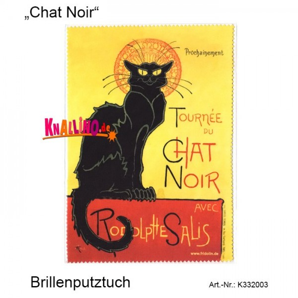 Chat Noir Brillenputztuch