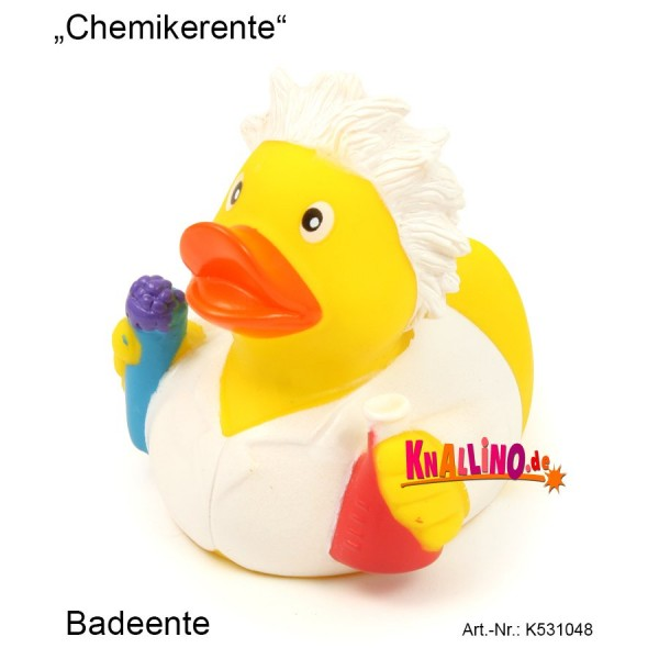Chemikerente Badeente