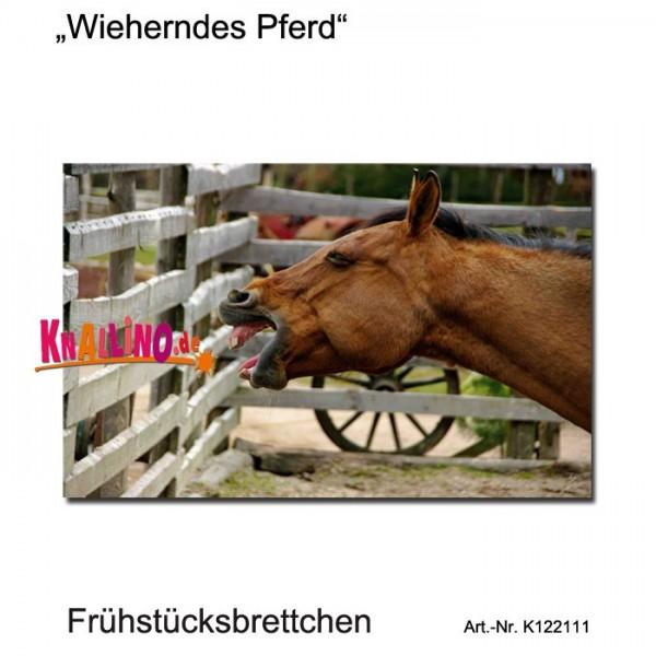 Wieherndes Pferd Frühstücksbrettchen