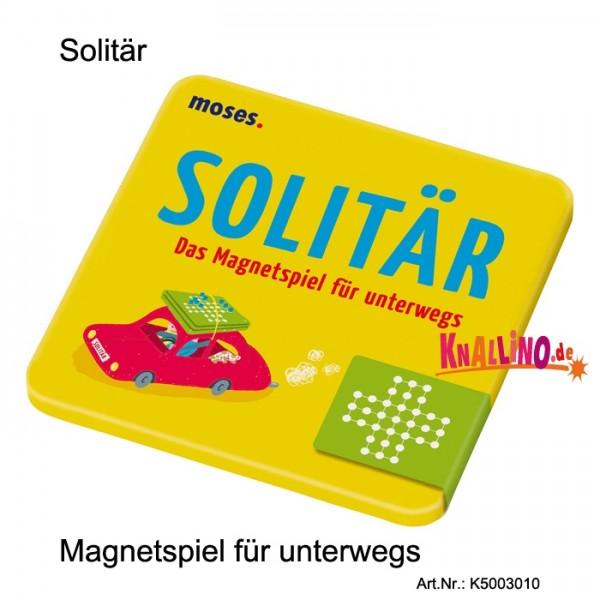 Solitär Magnetspiel für unterwegs