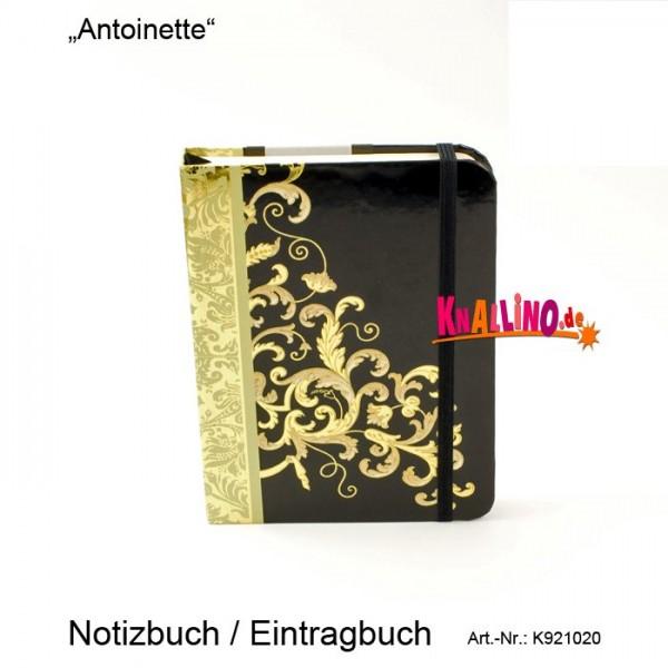 Antoinette Notizbuch / Eintragbuch