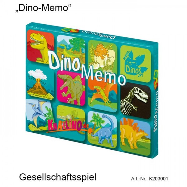 Dino Memo Gesellschaftsspiel