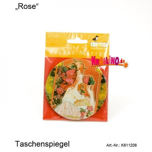 Rose Taschenspiegel