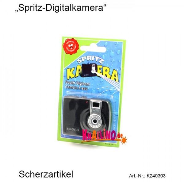 Spritz-Digitalkamera Scherzartikel