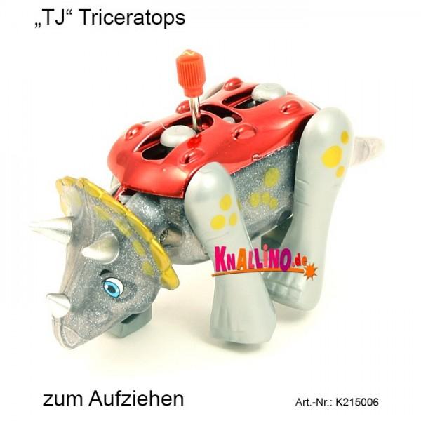 TJ Triceratops zum Aufziehen