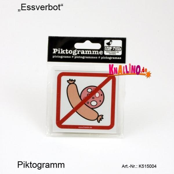Essverbot Piktogramm