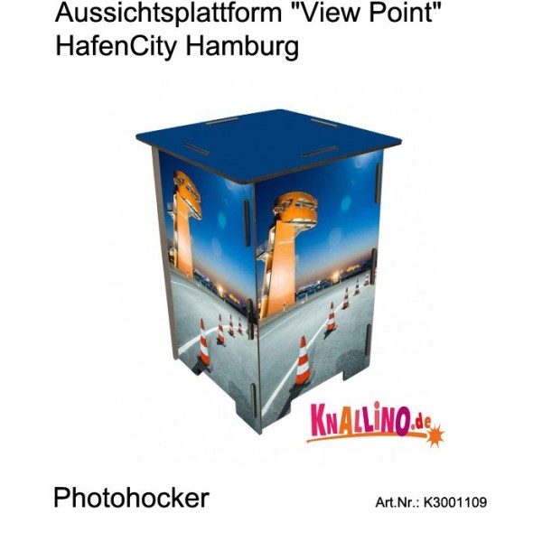 Aussichtsplattform 'View Point' HafenCity Hamburg Photohocker