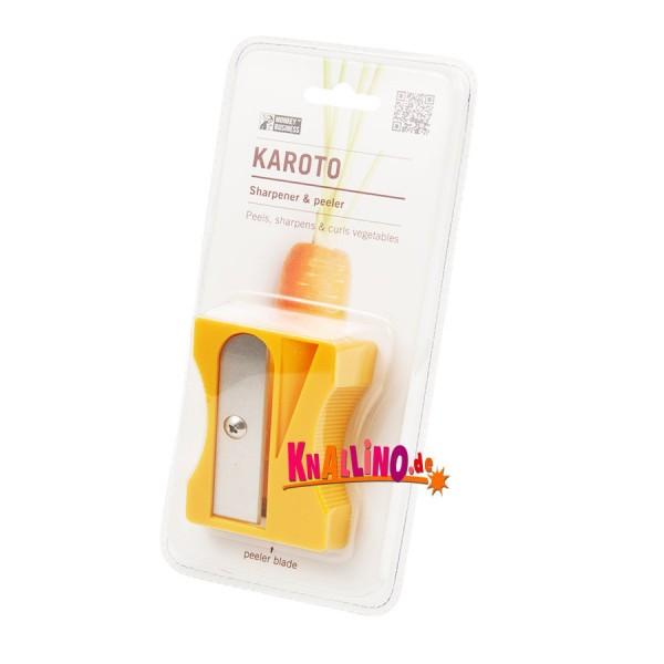Monkey Business Karoto gelb Gemüsespitzer und -schäler