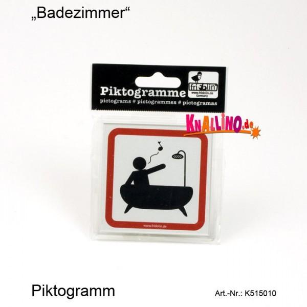Badezimmer Piktogramm