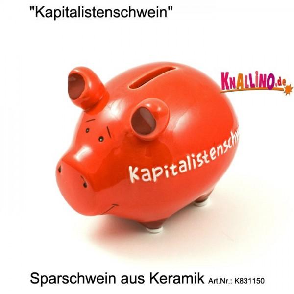 Kapitalistenschwein Sparschwein