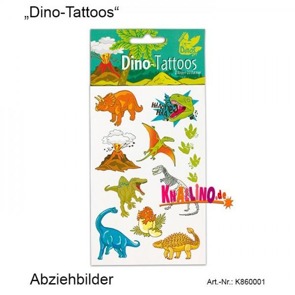 Dino-Tattoos Abziehbilder