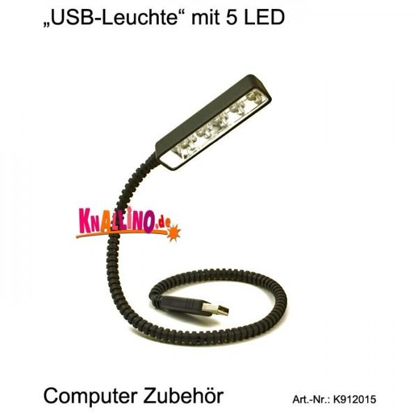 USB-Leuchte mit 5 LED