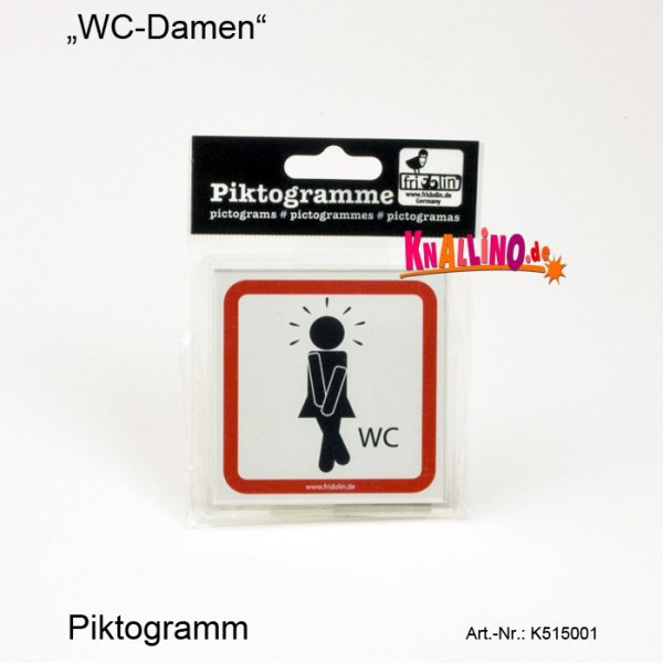 WC-Damen Piktogramm