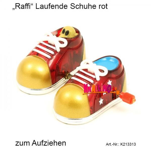 Z Wind Ups Raffi Laufende Schuhe rot zum Aufziehen