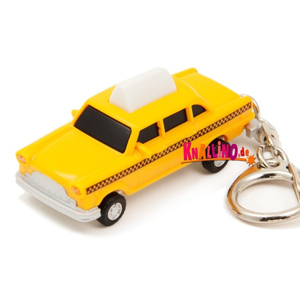 Taxi LED Schlüsselanhänger