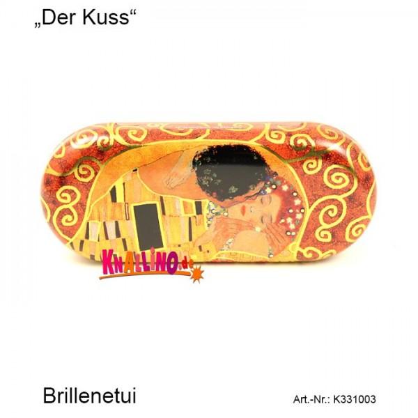 Der Kuss Gustav Klimt Brillenetui