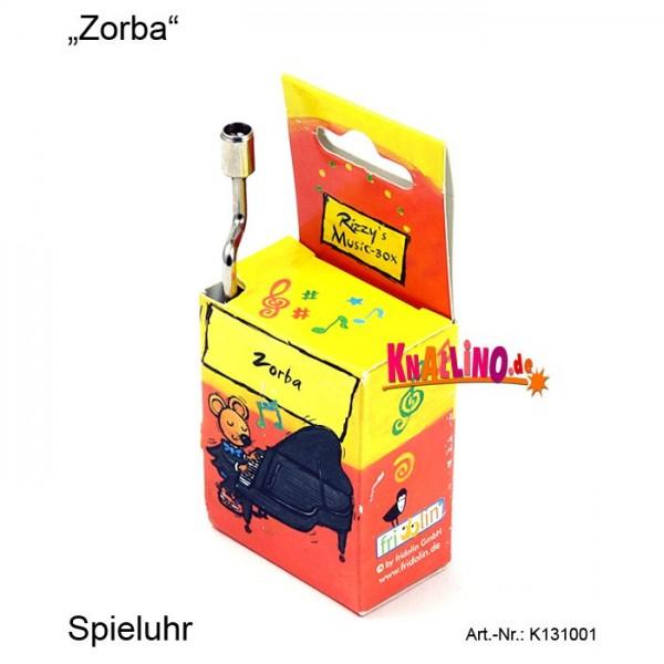 Zorba Rizzy's Music Box Spieluhr