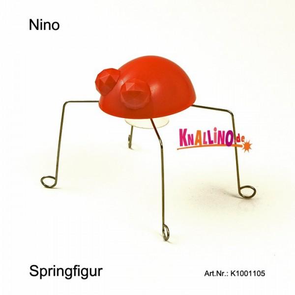 Kikkerland Nino Springfigur