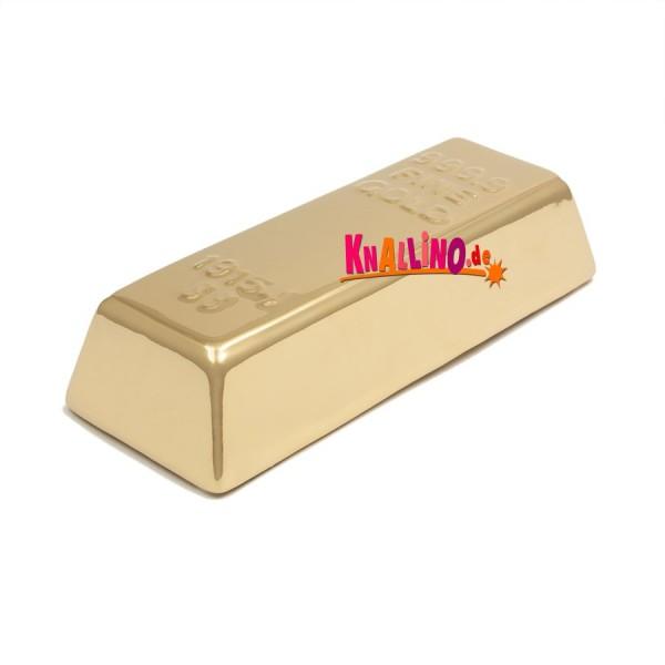 Goldbarren Münzdose