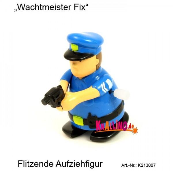 Wachtmeister Fix flitzende Aufziehfigur