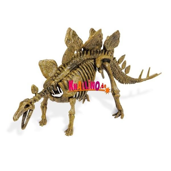 Geoworld Jurassic Eggs Stegosaurus Dinoskelett zum Zusammenbauen