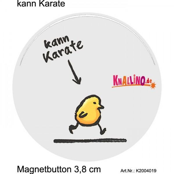 kann Karate Magnetbutton 3,8 cm