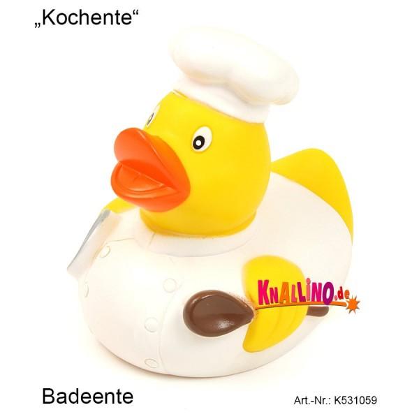 Kochente Badeente