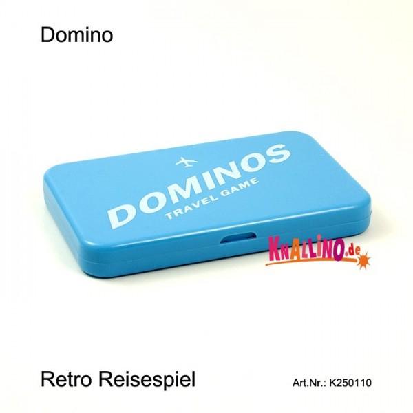 Domino Reisespiel im Reisepassformat