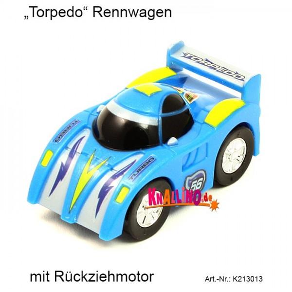 Torpedo Rennwagen mit Rückziehmotor