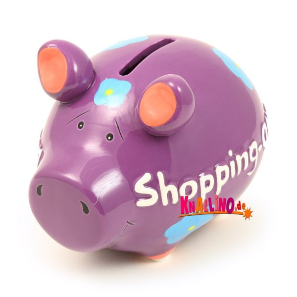 Shopping Queen Sparschwein
