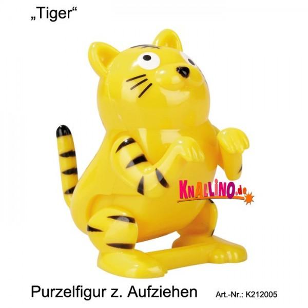 Tiger Purzelfigur zum Aufziehen