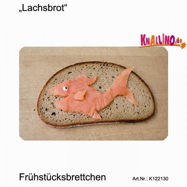 Lachsbrot Frühstücksbrettchen