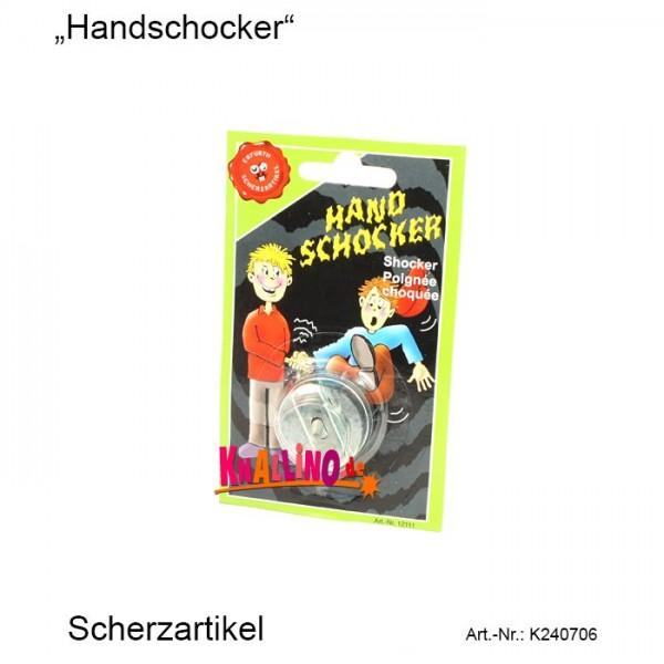 Handschocker Scherzartikel