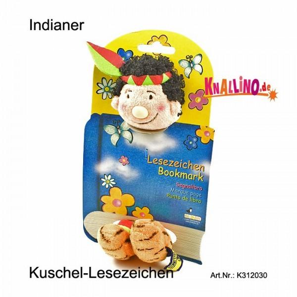 Indianer Kuschel-Lesezeichen